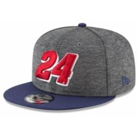 New Era ニュー エラ スポーツ用品  New Era William Byron Graphite/Navy Shadow Tech Number 9FIFTY Snapback Adjustable Hat