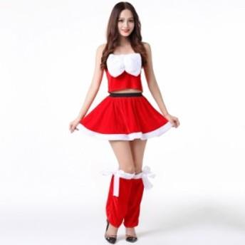 クリスマス 衣装サンタ コスプレ レディース サンタクロース コスチューム クリスマス パーティー 衣装 大人用 舞台 演出 衣装
