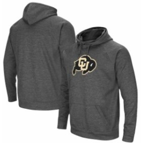 Stadium Athletic スタジアム アスレティック スポーツ用品  Colosseum Colorado Buffaloes Charcoal Big Logo Pullover Hoodie
