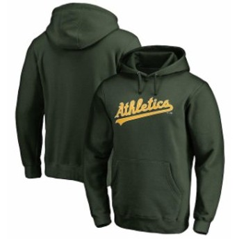Fanatics Branded ファナティクス ブランド スポーツ用品  Fanatics Branded Oakland Athletics Green Team Wordmark Pullover Hoodie