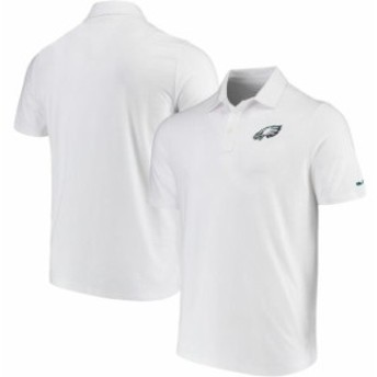 Vineyard Vines ヴィニヤード ヴァインズ シャツ ポロシャツ Vineyard Vines Philadelphia Eagles White Edgartown Tri-Blend Polo