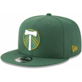 New Era ニュー エラ スポーツ用品  New Era Portland Timbers Green Tag Turn 9FIFTY Adjustable Hat