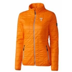 Cutter & Buck カッター アンド バック スポーツ用品  Cutter & Buck Tennessee Volunteers Womens Orange Rainier Full-Zip Puffer Jack