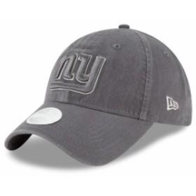 New Era ニュー エラ スポーツ用品  New Era New York Giants Womens Graphite Preferred Pick 9TWENTY Adjustable Hat