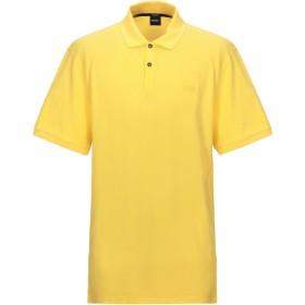 《期間限定セール開催中!》BOSS HUGO BOSS メンズ ポロシャツ イエロー XXL コットン 100%
