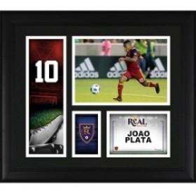 Fanatics Authentic ファナティクス オーセンティック スポーツ用品  Fanatics Authentic Joao Plata Real Salt Lake Framed 15 x 17 Pla