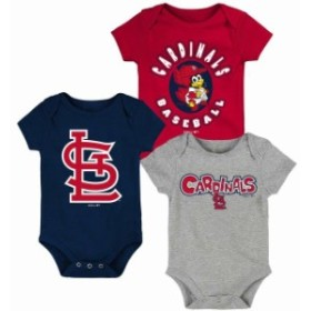 Outerstuff アウタースタッフ アクセサリー  St. Louis Cardinals Newborn & Infant Red/Navy/Heathered Gray Everyday Fan Three-Pack B