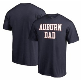Fanatics Branded ファナティクス ブランド スポーツ用品  Fanatics Branded Auburn Tigers Navy Big & Tall Team Dad T-Shirt