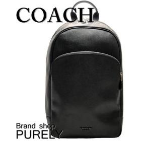 全品ポイント5倍 コーチ バッグ メンズ COACH リュックサック レザー ベケット ビジネス バックパック F72512 NIBLK ブラック
