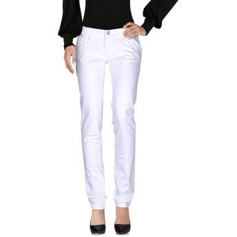 《セール開催中》DIESEL レディース パンツ ホワイト 27 コットン 98% / ポリウレタン 2%