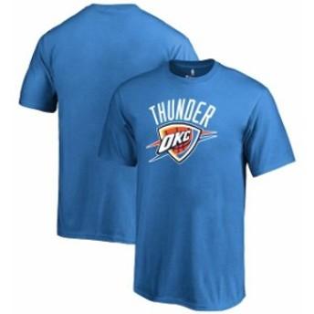 Fanatics Branded ファナティクス ブランド スポーツ用品  Fanatics Branded Oklahoma City Thunder Youth Blue Primary Logo T-Shirt