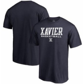 Fanatics Branded ファナティクス ブランド スポーツ用品  Fanatics Branded Xavier Musketeers Navy True Sport Basketball T-Shirt