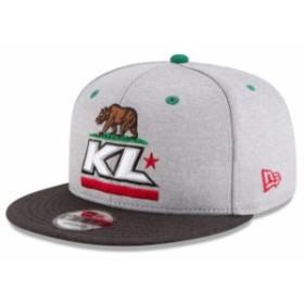 New Era ニュー エラ スポーツ用品  New Era Kyle Larson Gray California 9FIFTY Snapback Adjustable Hat