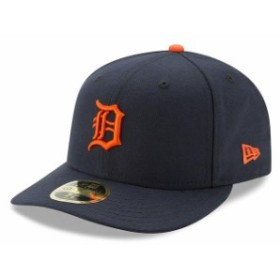 New Era ニュー エラ スポーツ用品  New Era Detroit Tigers Navy Road Authentic Collection On-Field Low Profile 59FIFTY Fitted Hat