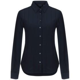 《セール開催中》ASPESI レディース シャツ ダークブルー 38 シルク 100%