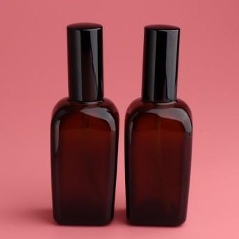 香水トナーアトマイザーコンテナ100ミリリットル用2×空のファインミストポンプスプレーボトル