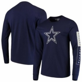 Dallas Cowboys Merchandise ダラス カウボーイズ マーチャンダイズ スポーツ用品  Dallas Cowboys Navy Blockade Long Sleeve T-Shirt