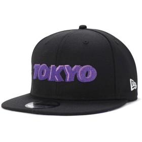 (ニューエラ) NEW ERA キャップ スナップバック 9FIFTY CITY LANDSCAPE TOKYO ブラック FREE