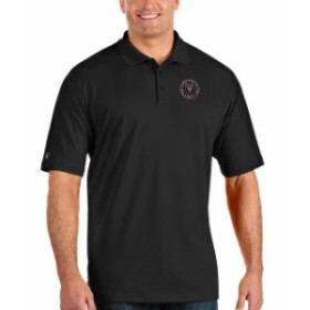 Antigua アンティグア シャツ ポロシャツ Antigua Inter Miami CF Black Big & Tall Pique Xtra Lite Polo