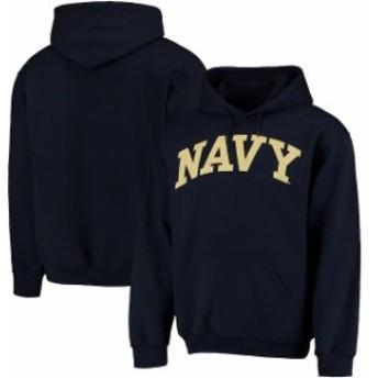 Fanatics Branded ファナティクス ブランド スポーツ用品  Navy Midshipmen Navy Basic Arch Pullover Hoodie