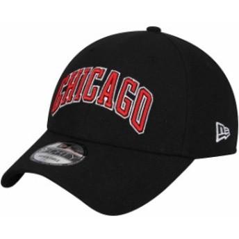 New Era ニュー エラ スポーツ用品  New Era Chicago Bulls Black Statement Edition 9FORTY Adjustable Hat