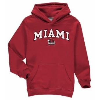 Fanatics Branded ファナティクス ブランド スポーツ用品  Fanatics Branded Miami University RedHawks Youth Red Campus Pullover Hood