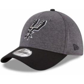 New Era ニュー エラ スポーツ用品  New Era San Antonio Spurs Heathered Gray/Black 39THIRTY Flex Hat