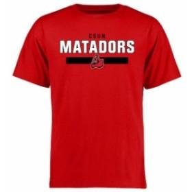 Fanatics Branded ファナティクス ブランド スポーツ用品  Cal State Northridge Matadors Red Team Strong T-Shirt