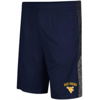 Colosseum コロセウム スポーツ用品  Colosseum West Virginia Mountaineers Friction Navy Shorts