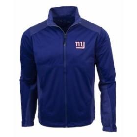 Antigua アンティグア アウターウェア ジャケット/アウター Antigua New York Giants Royal Revolve Full-Zip Jacket