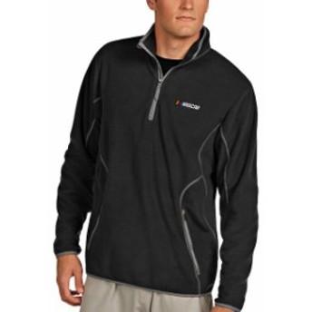 Antigua アンティグア スポーツ用品  Antigua NASCAR Black Ice Quarter-Zip Jacket -