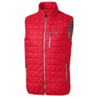 Cutter & Buck カッター アンド バック スポーツ用品  Cutter & Buck Texas Tech Red Raiders Red Rainier Full-Zip Vest