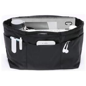 APSOONSELL バッグインバッグ 軽量 自立 カバン 整理 バッグ トート用 大容量 バックインバック 黒 レディース メンズ おしゃれ ブラック L
