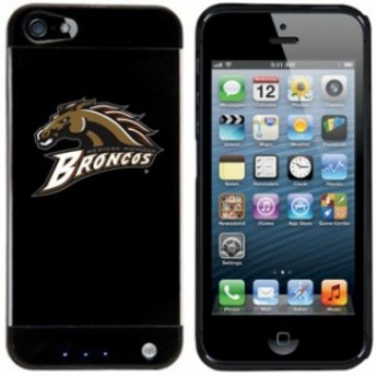 Hoot フート スポーツ用品  Western Michigan Broncos Black iPhone 5 Power Case