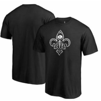 Fanatics Branded ファナティクス ブランド スポーツ用品  Fanatics Branded New Orleans Pelicans Black Marble Logo Big & Tall T-Shir