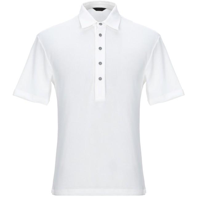 《セール開催中》HSIO メンズ ポロシャツ ホワイト M コットン 100%