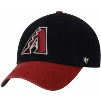 47 フォーティーセブン スポーツ用品  47 Arizona Diamondbacks Black/Red Franchise Batting Practice Fitted Hat