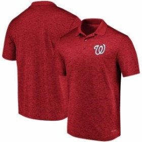 Majestic マジェスティック シャツ ポロシャツ Majestic Washington Nationals Red Targeting Success Domestic Cool Base Polo