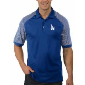 Antigua アンティグア スポーツ用品  Antigua Los Angeles Dodgers Royal/White Engage Polo