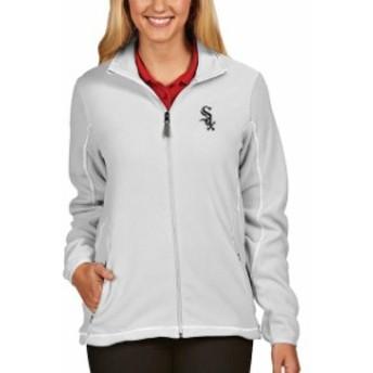 Antigua アンティグア スポーツ用品  Antigua Chicago White Sox Womens White Full Zip Ice Jacket