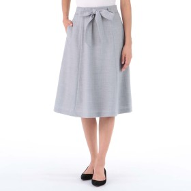 NIMES(ニーム)/サキソニーストレッチスカート