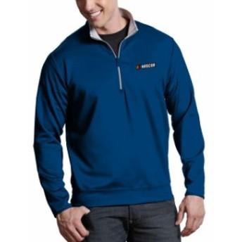 Antigua アンティグア スポーツ用品  Antigua NASCAR Royal Leader Quarter-Zip Pullover Jacket
