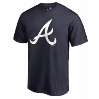 Fanatics Branded ファナティクス ブランド スポーツ用品  Atlanta Braves Navy Team Color Primary Logo T-Shirt