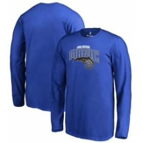 Fanatics Branded ファナティクス ブランド スポーツ用品  Fanatics Branded Orlando Magic Youth Blue Primary Logo Long Sleeve T-Shir