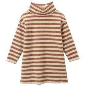 あったか フリースハイネックワンピース(女の子 子供服。ジュニア服) ワンピース