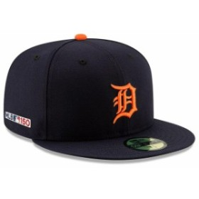 New Era ニュー エラ スポーツ用品  New Era Detroit Tigers Navy Road MLB 150th Anniversary Authentic Collection 59FIFTY Fitted Hat