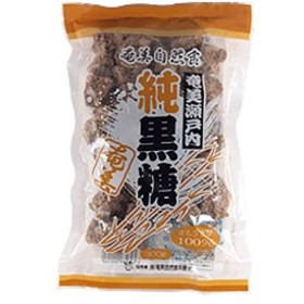 奄美瀬戸内純黒糖(300g)【奄美自然食本舗】