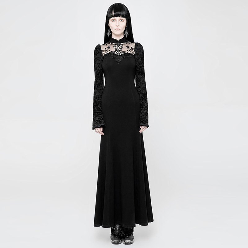哥德靈媒針織洋裝 / 即將絕版