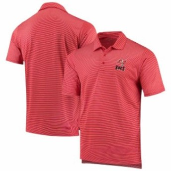 Antigua アンティグア シャツ ポロシャツ Antigua Tampa Bay Buccaneers Red/White Quest Polo