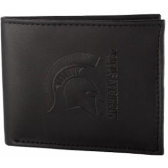 Evergreen Enterprises エバーグリーン エンタープライズ スポーツ用品  Michigan State Spartans Black Hybrid Bi-Fold Wallet